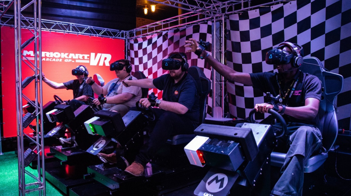 Mario Kart VR comes to Southern California