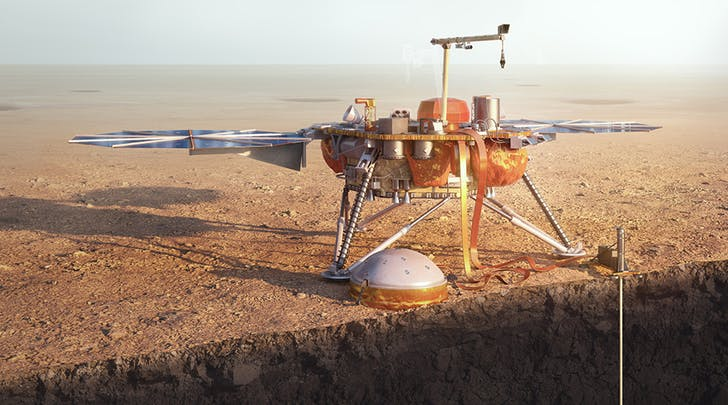 NASA discover queer Magnetic Pulses on Mars