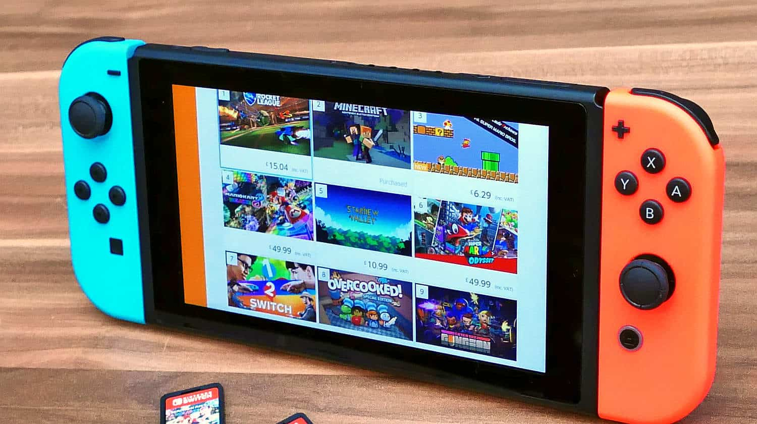 Nintendo Switch Multi-Game