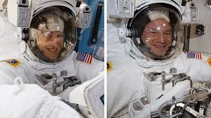 Space explorers Complete First Spacewalk in chain to Update Station storage cell