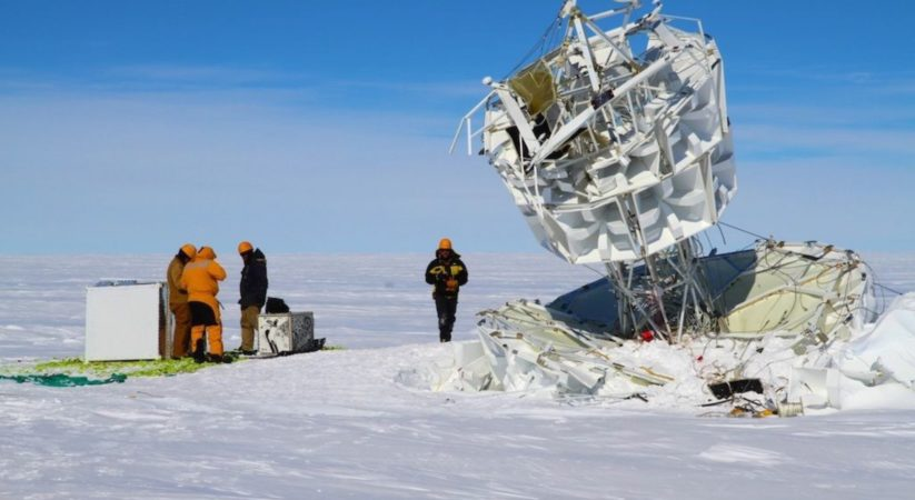 From Antarctica oppose Material science Secretive particles heaving