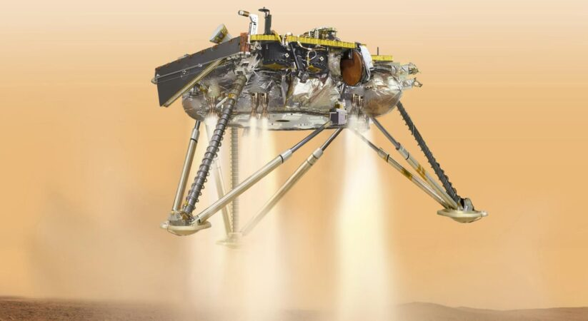 On Mars, NASA wanderer faces 'seven minutes of terror' prior to arriving