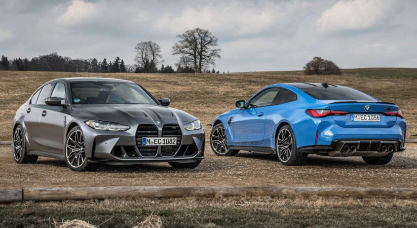 2022 BMW M3, M4 Competition xDrive launch with better speed increase