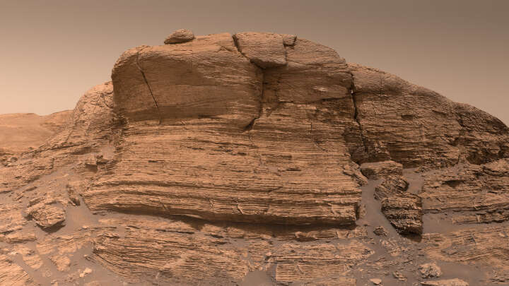 Mars didn't lose the entirety of its water immediately, in view of Curiosity meanderer find