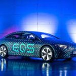 The 2022 Mercedes-Benz EQS has a special interest in an extravagance, electric future