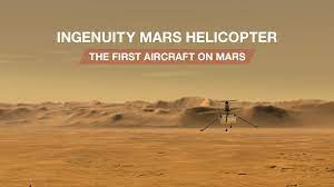 NASA Mars helicopter inventiveness: how to observe first trip on another planet