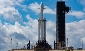 SpaceX's Falcon Heavy rocket to convey an Astrobotic lander and NASA water-chasing wanderer to the moon in 2023