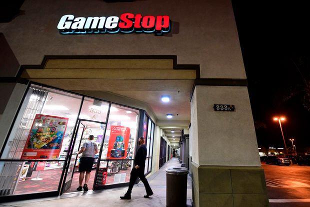 gameStop CEO George Sherman to venture down