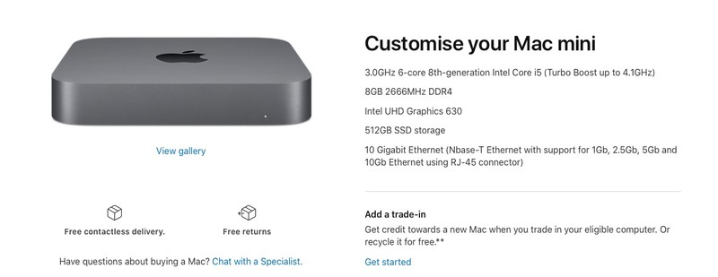 Apple quietly refreshes M1 Mac scaled down with discretionary 10 Gigabit Ethernet port