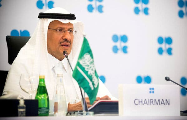 OPEC and partners to help creation after US calls Saudi Arabia