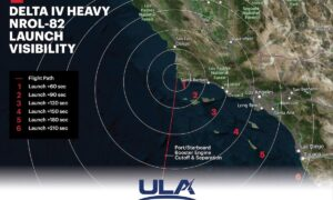 One of ULA's four excess Delta 4 rockets set to dispatch from California
