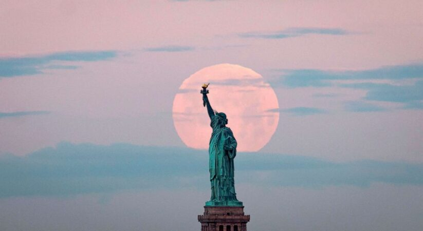 pink moon is first supermoon of 2021: when to see it