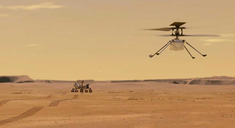 NASA plans for first Helicopter flight test on Mars