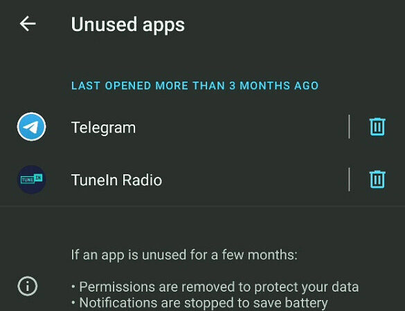 Android 12 could naturally clear up the trash your unused applications abandon