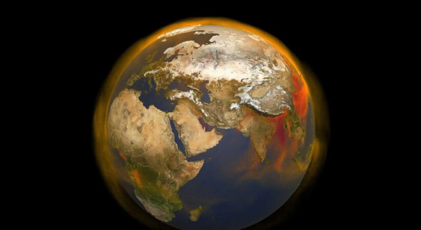 Environmental Change has thumped earth off its pivot