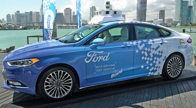 Self-driving Ford vehicles reaching Miami Lyft clients by end of 2021