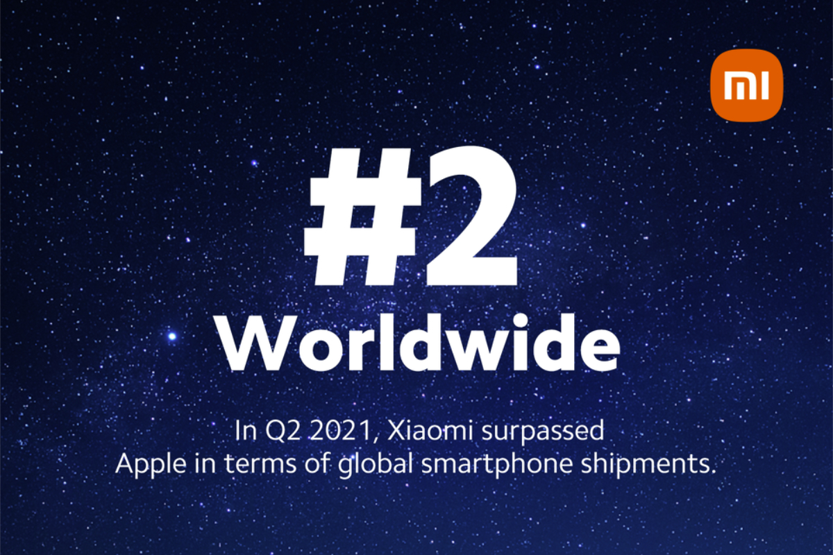 Xiaomi overwhelms Apple as number two cell phone seller for first time