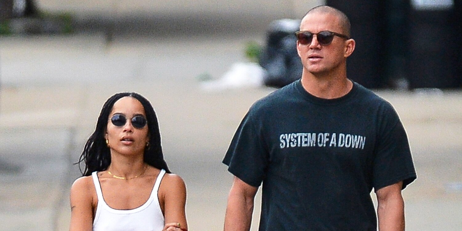 Channing Tatum and Zoë Kravitz step out for lunch in New York City
