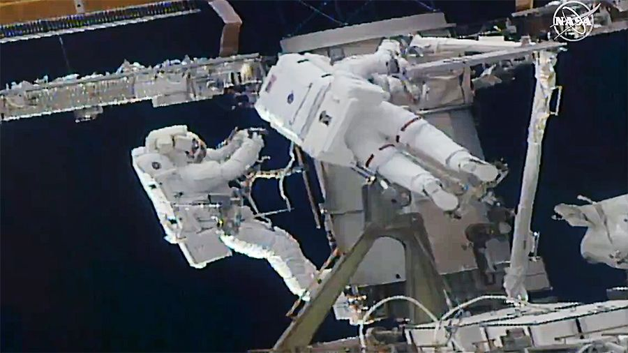 Nasa, Japanese astronauts to lead the fourth spacewalk to install new solar panels on ageing Space Station