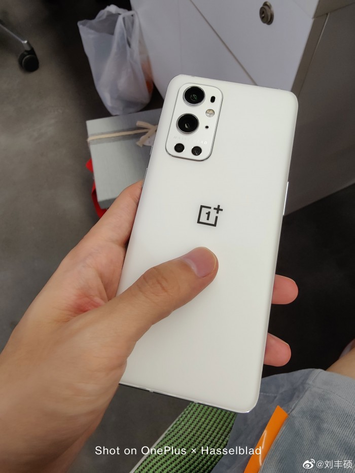 Unadulterated White OnePlus 9 Pro live picture surfaces