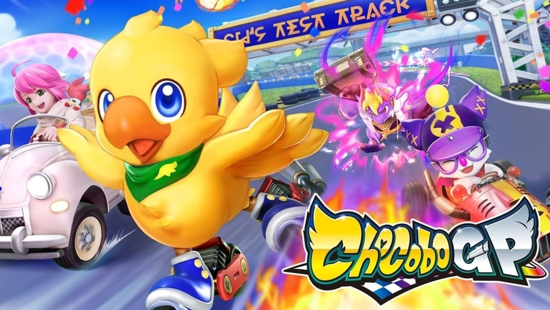 Final Fantasy is currently a full-on Chocobo racing game, out of 2022