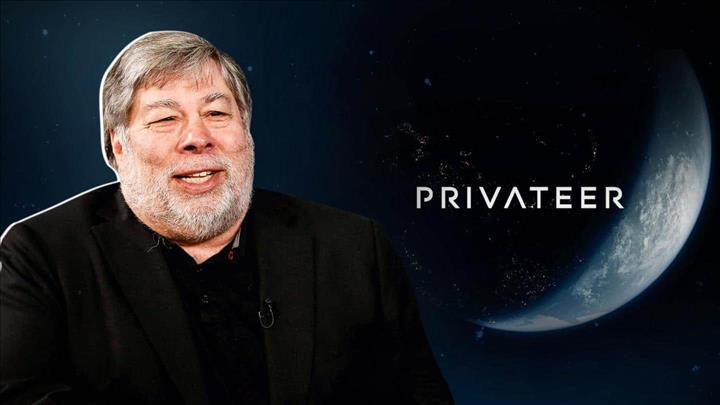 Apple co-founder Steve Wozniak reports space startup Privateer Space
