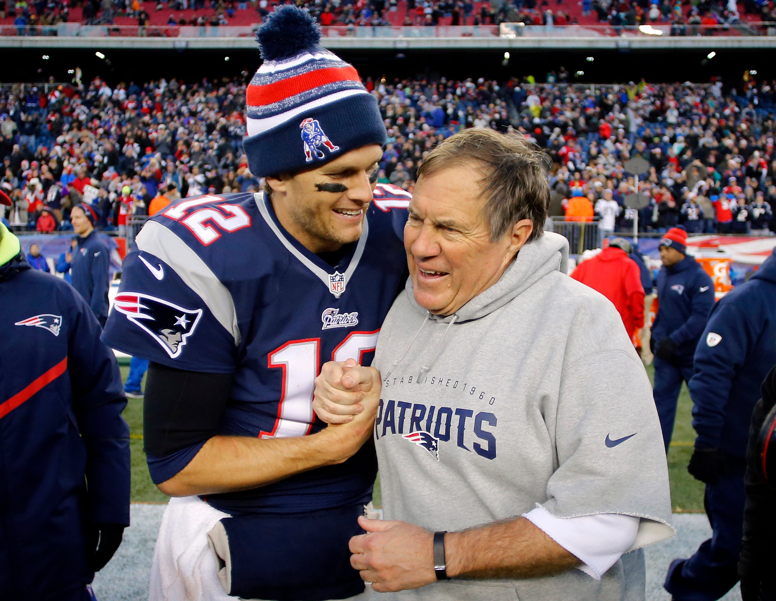 Tom Brady and Bill Belichick deliver historic 'Sunday Night Football' ratings