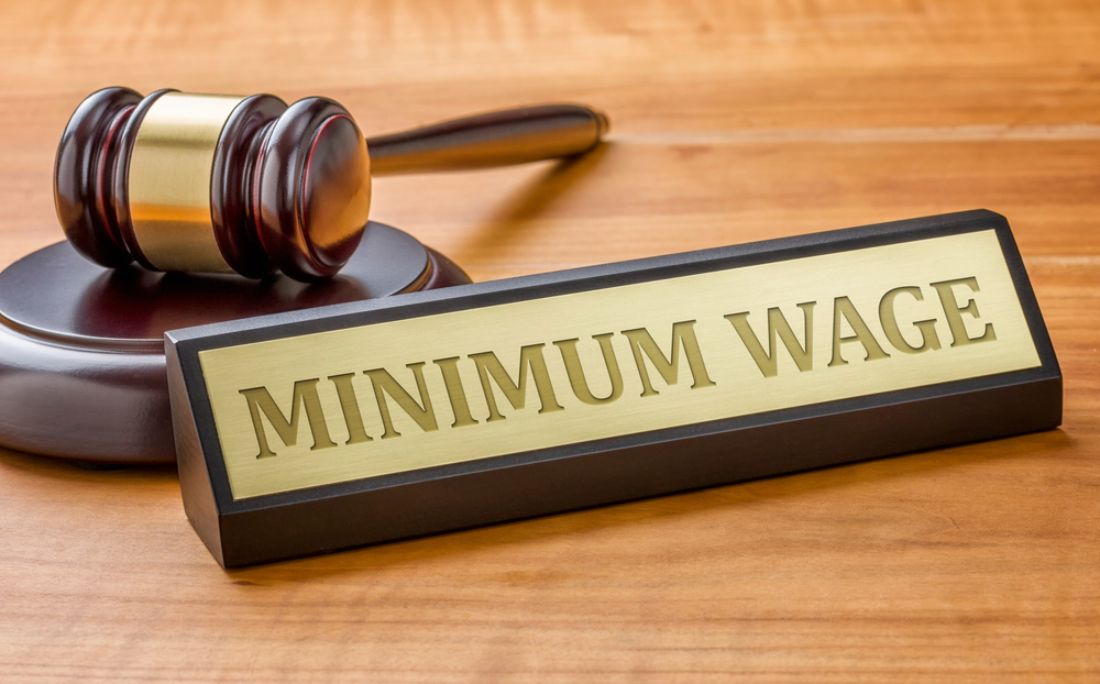 Washington bringing the lowest pay permitted by law up in 2022