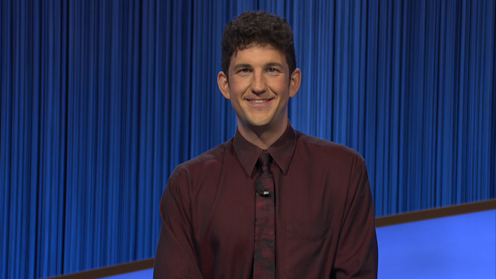 Matt Amodio is presently the 'Jeopardy!' contestant with the second-most successive successes